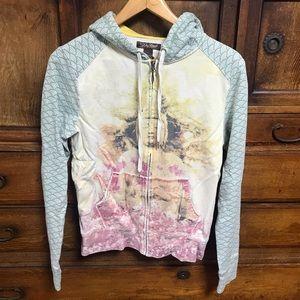 Vtg Japanese Lucky Brand Buddah Tori Gate hoodie
